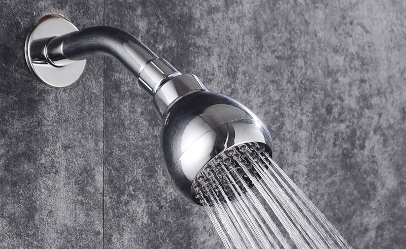A Fixed shower head