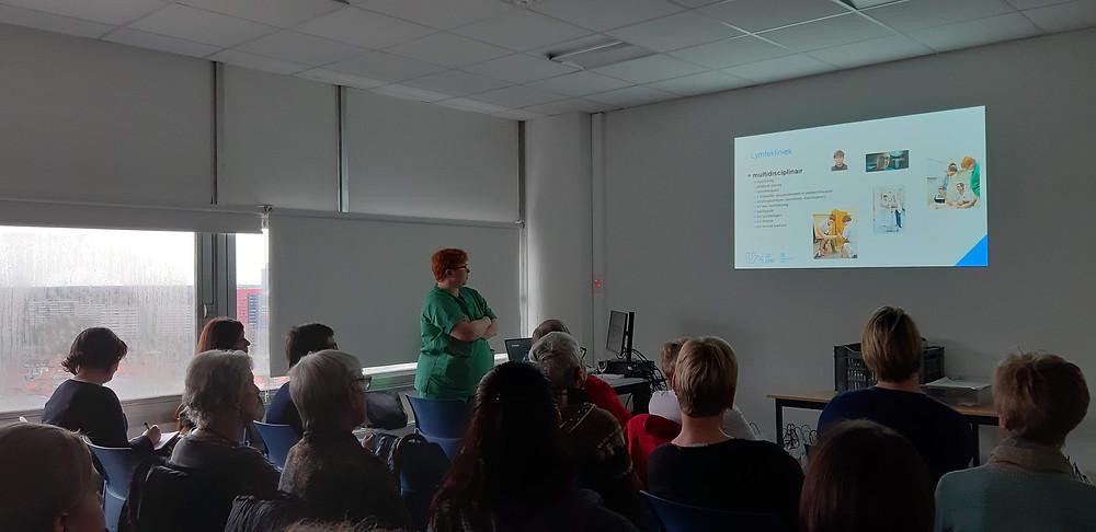 Prof. Randon, vaatchirurg en medisch coördinator, Lymfekliniek UZ Gent
