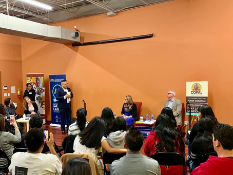 Thank you COPAL, MN Council on Latino Affairs and Tyron Guzman for inviting the NLPOA to your event
