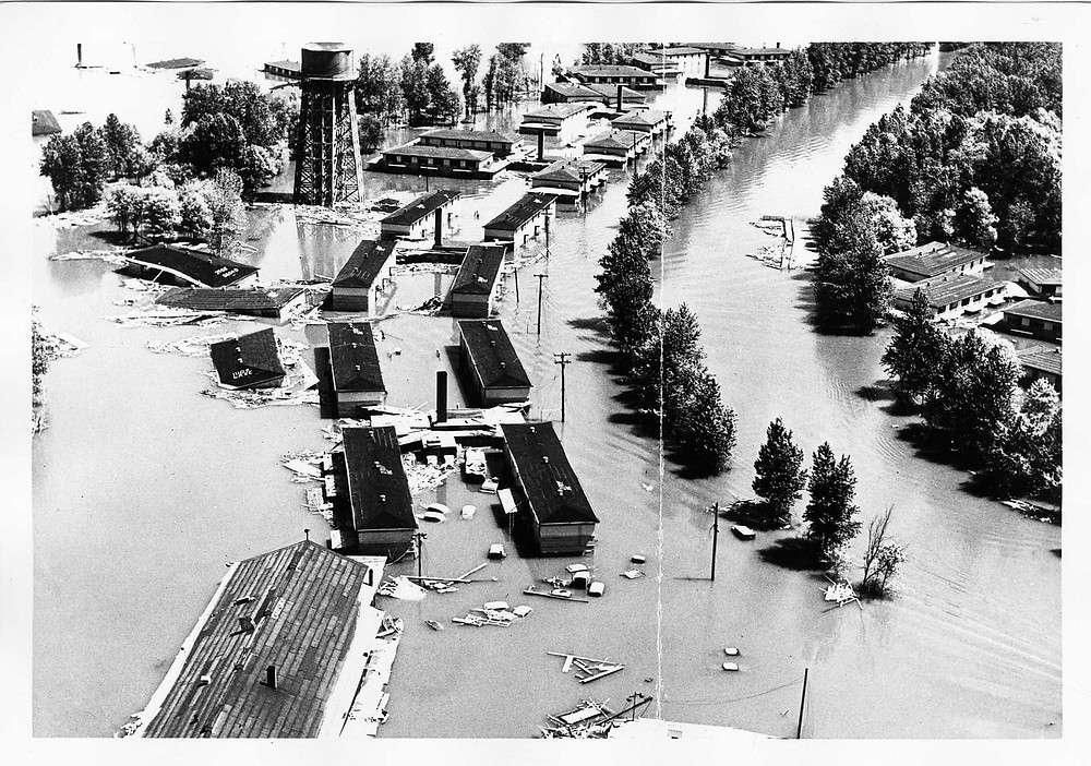 Flooded city of Vanport