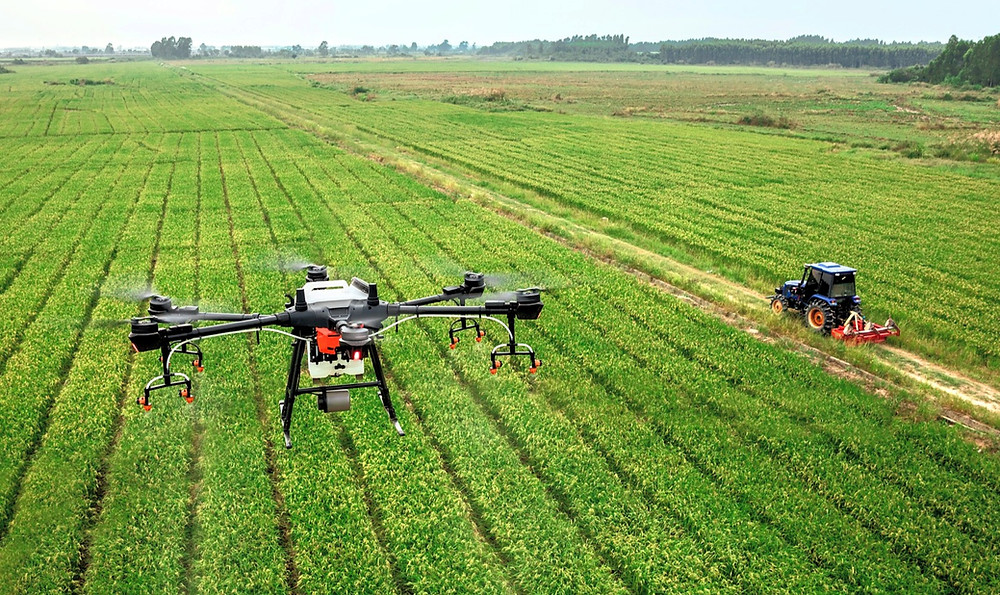 Agricultura con drones - Drones Valladolid