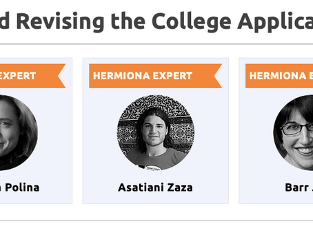 Hermiona College Essay Writing Intensive Testimonials