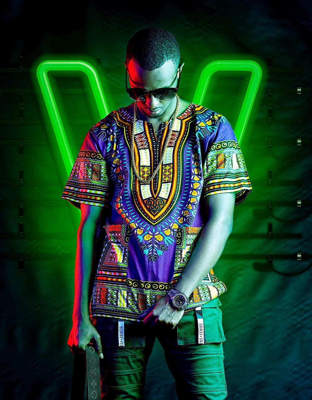 Nhiếp ảnh thời trang quảng cáo neon của tito winyi