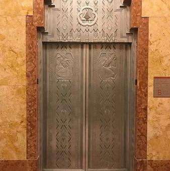 The Elevator doors