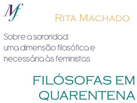 Sobre Sororidad: uma dimensão filosófica e necessária às feministas.