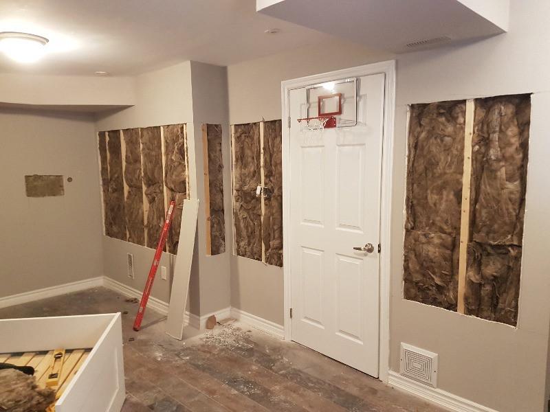 insulation between walls