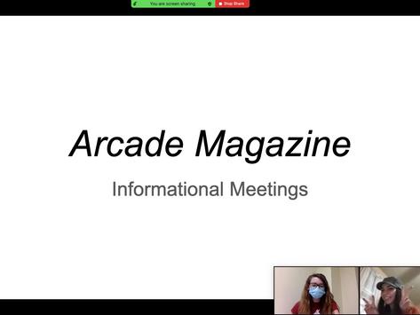 Arcade Informational Meeting 2020