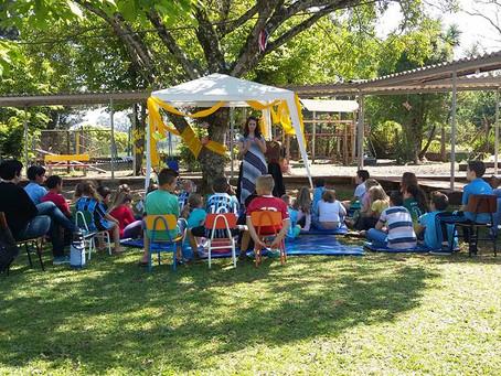 Autora Presente na  EEEF São Rafael em Cruzeiro do Sul