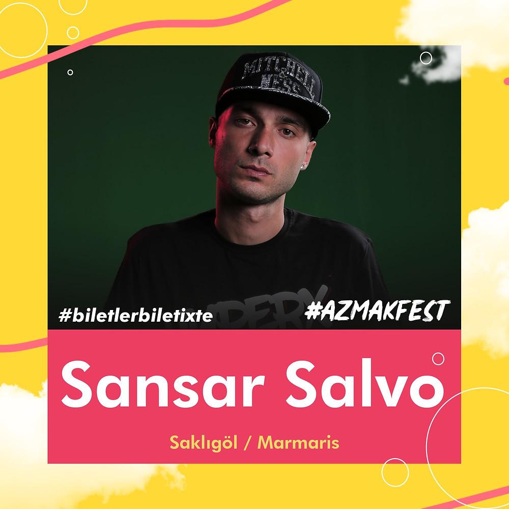 Sansar Salvo'yu #AzmakFest'te canlı canlı dinle, eğlen