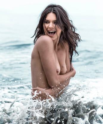 Kendall Jenner Playfull