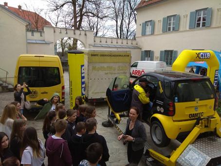"""""""Mobil und Sicher – DAY"""" der 3. Klassen"""