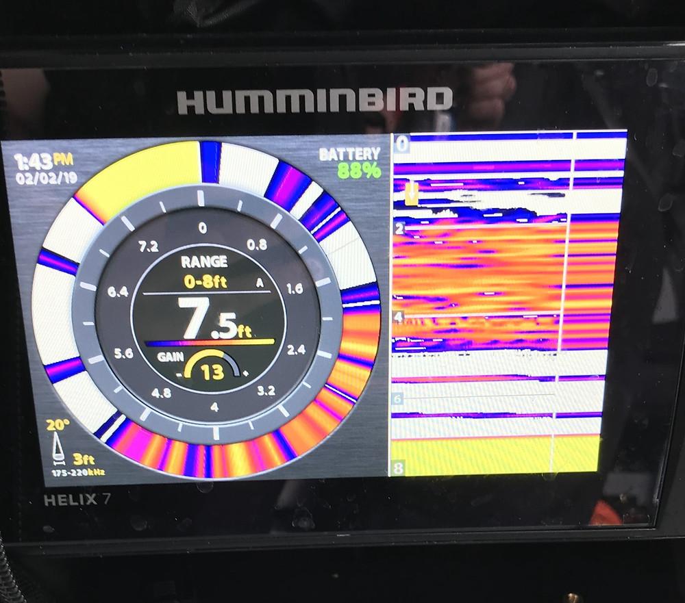Humminbird helix 7 ice fishing sonar unit