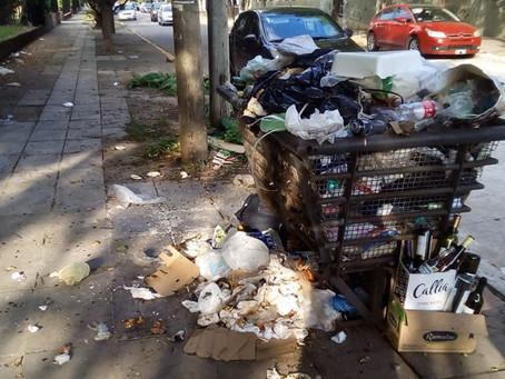 Carta de lectores: Acumulación de basura frente a la Escuela 16