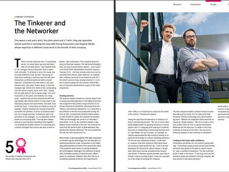 Forschungszentrum Jülich reports about SenseUp in its annual review