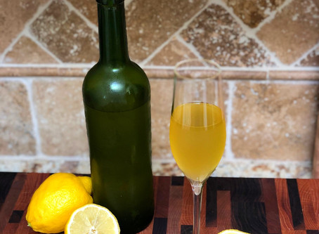 Homemade Limoncello: A Personal Recipe from Italy
