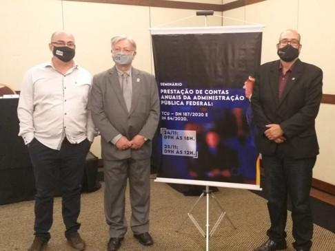CRT-RS participa de Seminário de Prestação de Contas em Brasília