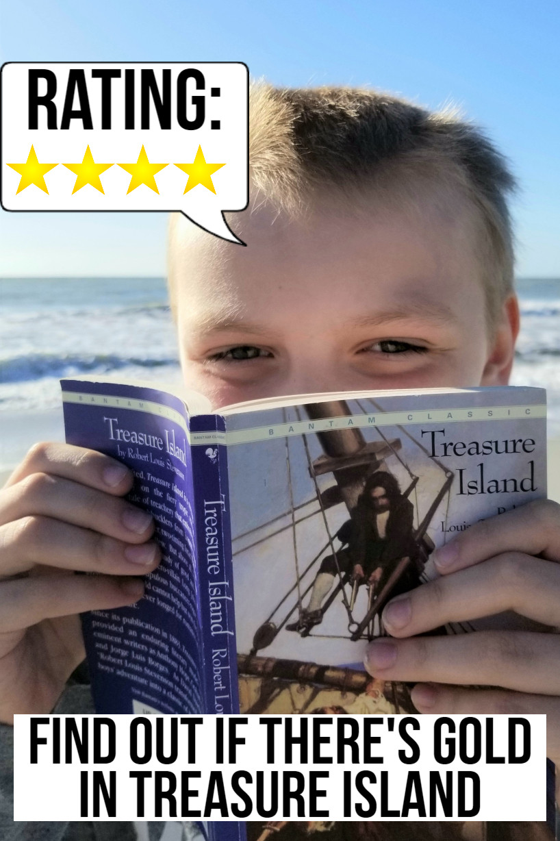 treasure island book summary, skeleton island treasure island, high school book review