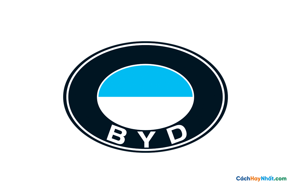 Logo BYD PNG