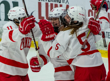 Cornell Women's Hockey Steamrolls Through St. Lawrence to Advance to ECAC Semifinals