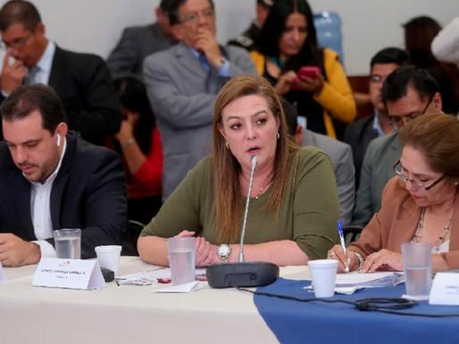 Comisión de Fiscalización recibe a interpelantes del juicio contra María Paula Romo