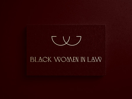 The Story Behind the Black Women in Law Logo