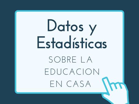 Datos y Estadísticas Sobre la Educación en Casa