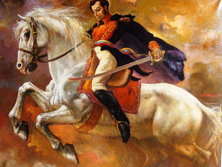 86.  Simón Bolívar - The Legendary Liberator  of Six South American Countries from Spain.
