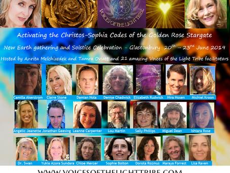 Voordracht bij de Voices of the Light Tribe Conferentie