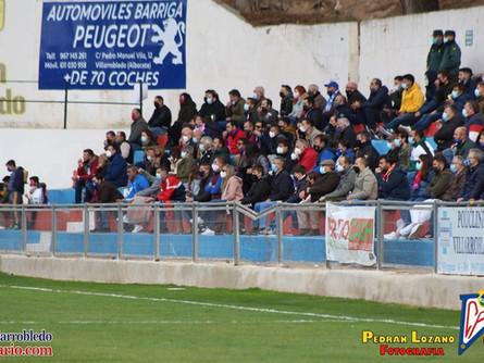 El CP Villarrobledo no podrá jugar con público ante el Extremadura