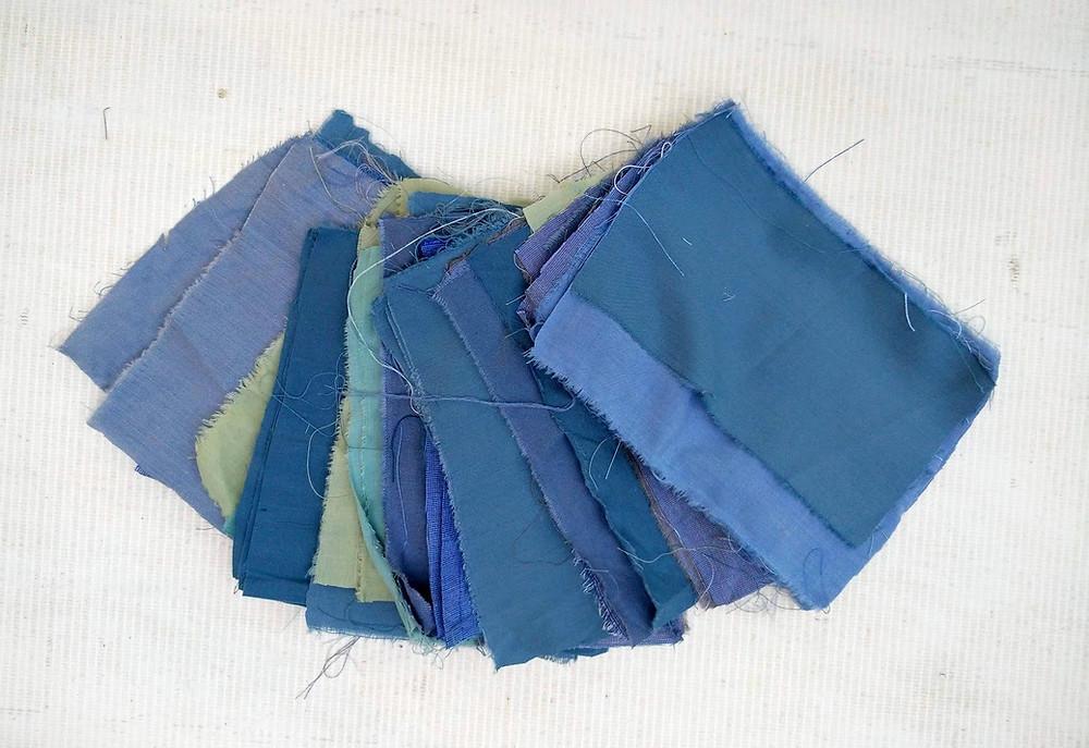 Small fabric rectrangles