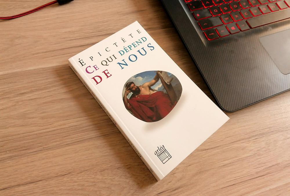 livre philosophie ce qui dépend de nous