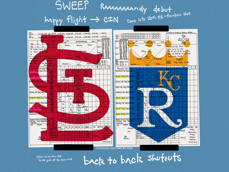 Game 118 Recap Cardinals vs Royals