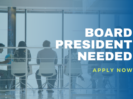 Become Our Next Board President!