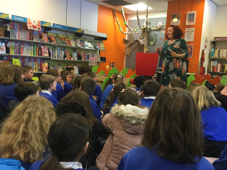 Story Telling at Ilfracombe Library