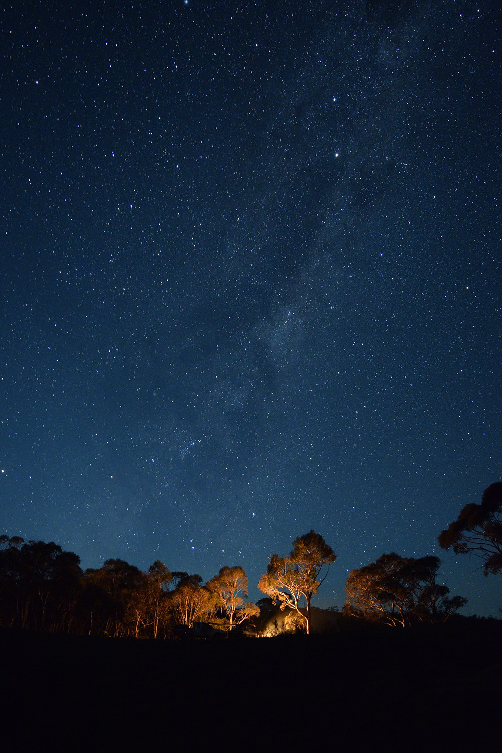 Outback Night Sky Australia