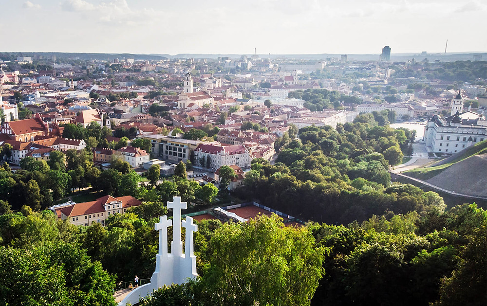 The three crosses, Vilnius