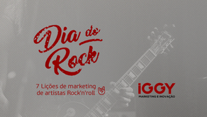 7 Lições de marketing de artistas Rock'n'roll