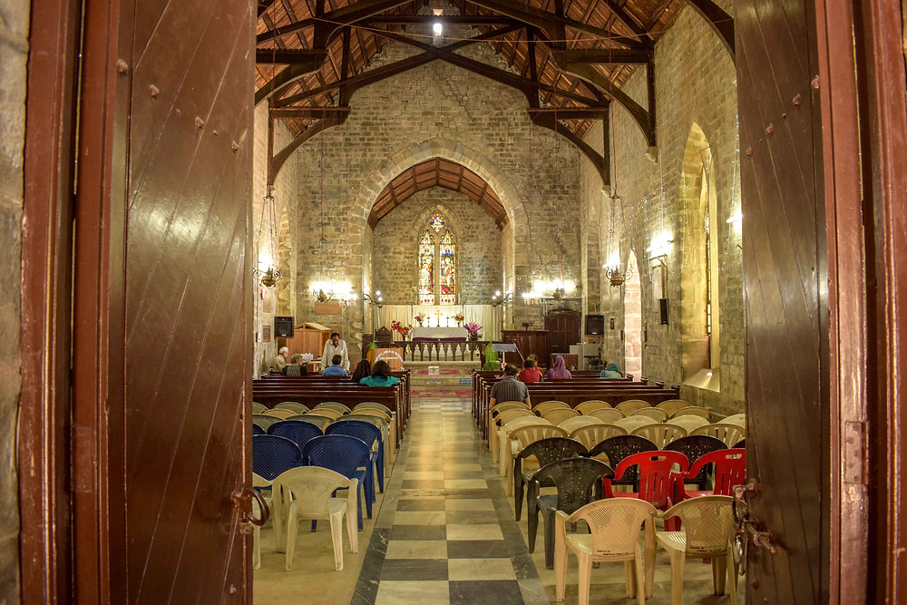 St John's Church Dharamshala inside