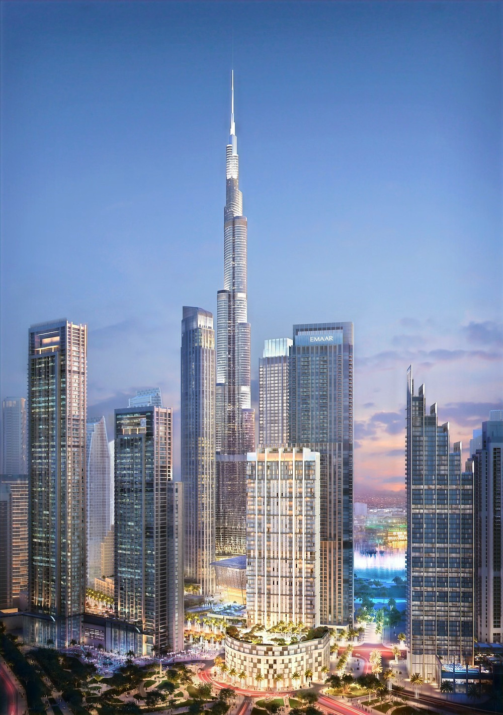 Emaar Properties launched Burj Crown, a new, 44-storey luxury residential tower