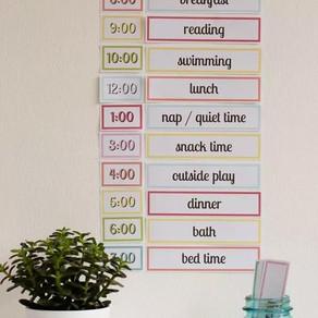美国家长用4种计划表,让孩子暑假一天都不浪费!