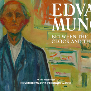 Edvard Munch Exhibition at The Met Breuer
