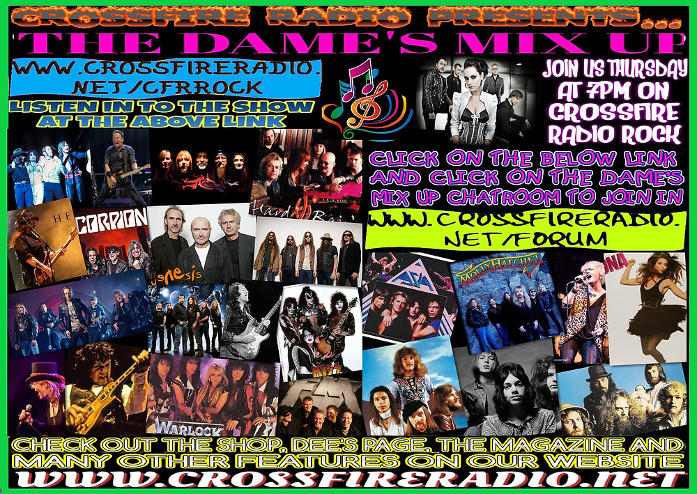 DAMES MIX UP ON CROSSFIRE RADIO