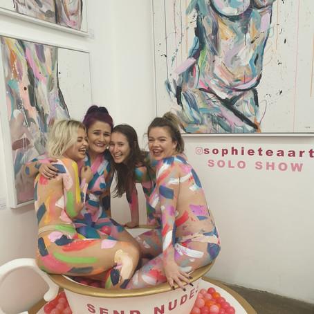 SophieTea Art; Empowering Women All Around The World