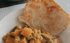 Recept: Pompoencurry met zelfgemaakte naan (gluten/lactosevrij)