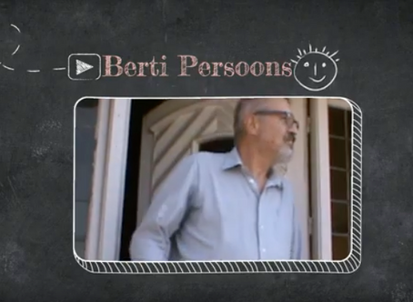 Berti vertelt over pesten en mindful kijken