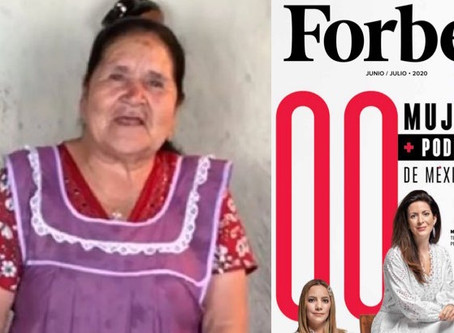 Doña Ángela ¡Orgullosa michoacana en la lista de Forbes!