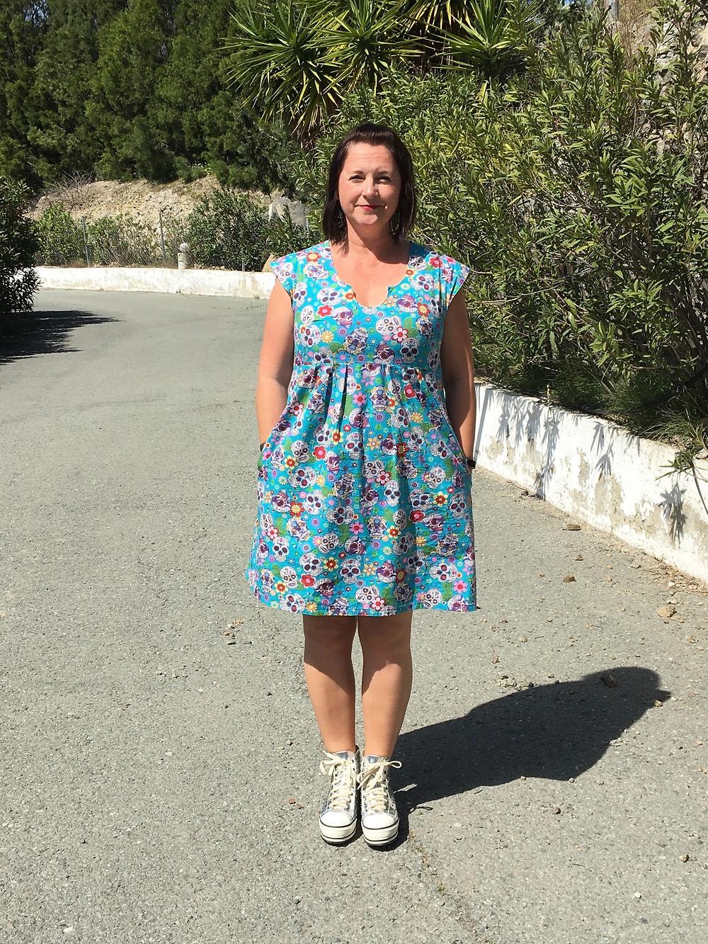 pdf pattern review Trillium Washi Dress Made-by-Rae.