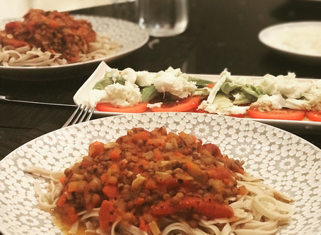 Family crowd pleaser - Vegan Bolognese