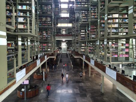 Las maravillas de la Biblioteca Vasconcelos