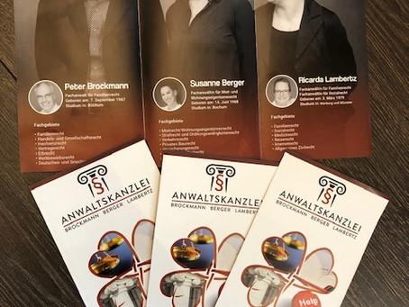 Unsere neuen Flyer sind da!